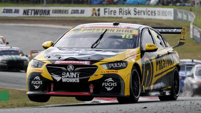 Lee Holdsworth driving in the Perth SuperSprint.