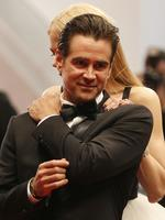 Nicole Kidman and Colin Farrell pose for photographers after the screening of the film The Killing Of A Sacred Deer during the 70th annual Cannes Film Festival on May 22, 2017. Picture: AP