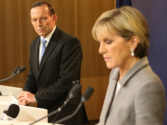 Determined to get answers ... Foreign Minister Julie Bishop will fly to New York tonight to lead Australia's United Nations campaign to secure a binding resolution.