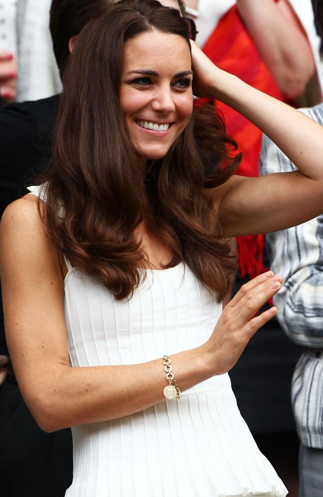 """A """"charming"""" gift from Kate's mother-in-law. Picture: Clive Brunskill/Getty Images"""
