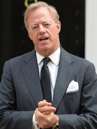 Mark Thatcher, son of Margaret. Picture: AFP