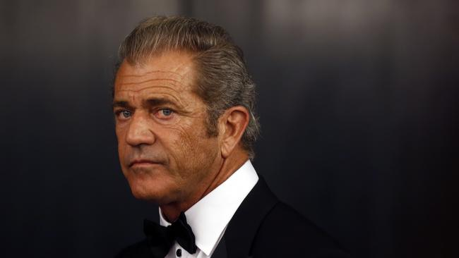 'You're a target' ... Mel Gibson arrives at the opening ceremony of the 49th Karlovy Vary International Film Festival. Picture: Matej Divizna