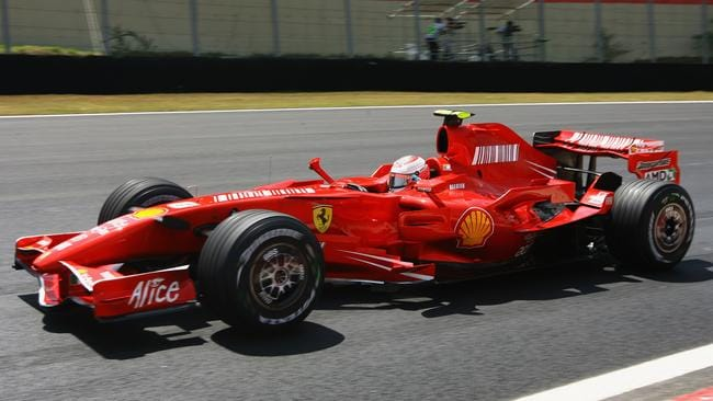 Raikkonen on his way to the title.