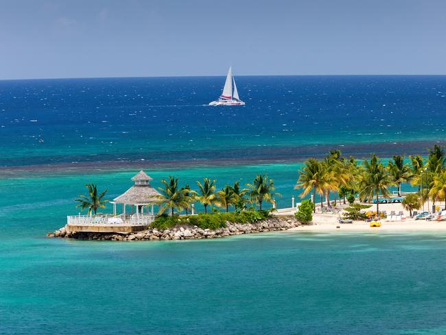 Tourists in Jamaica are being warned to stay inside. File image.
