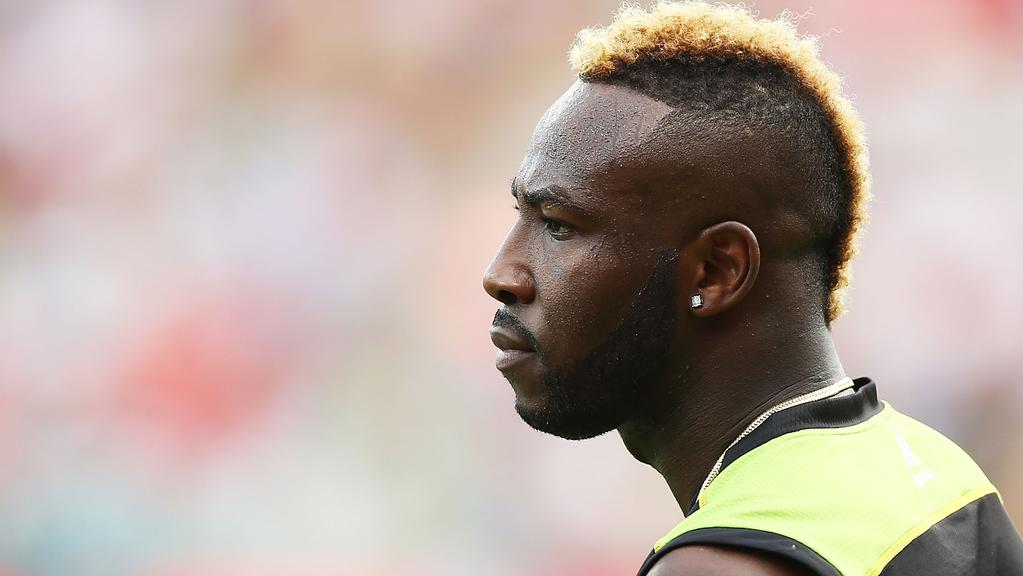 Andre Russell's Big Bash League campaign is over following a hamstring injury.