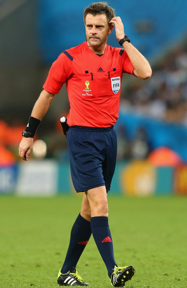 Italian referee Nicola Rizzoli has been busy.