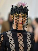 Cara Delevingne attends the Heavenly Bodies: Fashion and The Catholic Imagination Costume Institute Gala at The Metropolitan Museum of Art on May 7, 2018 in New York City. Picture: AFP