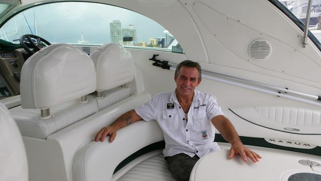 Vic Hislop in Queensland in 2009. Picture: Russell Shakespeare