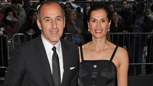 Lauer and Roque at TIME'S 100 Most Influential People In The World at the Jazz at Lincoln Centre in NYC. Picture by: Demis Maryannakis / Splash News.Source:Splash News Australia