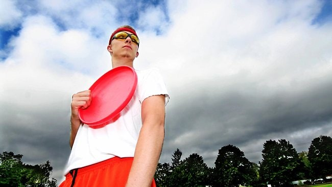Serious stuff: Don't mess with this ultimate frisbee champ. Picture: Thinkstock