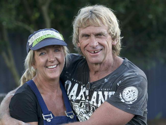 Carole and Russell from Western Australia.