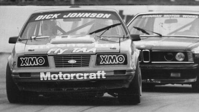 Oran Park 1985, Ford's last pole position until Surfers Paradise 1987.
