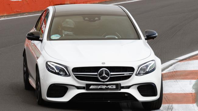 AMG E63. In the S version, the 4.0-litre V8 twin-turbo produces 450kW.