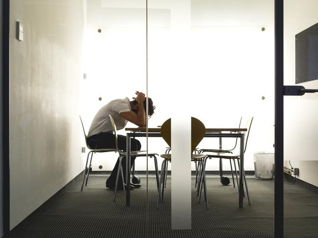 """Karoshi"" is the Japanese term for ""death from overwork"". Picture: iStock"