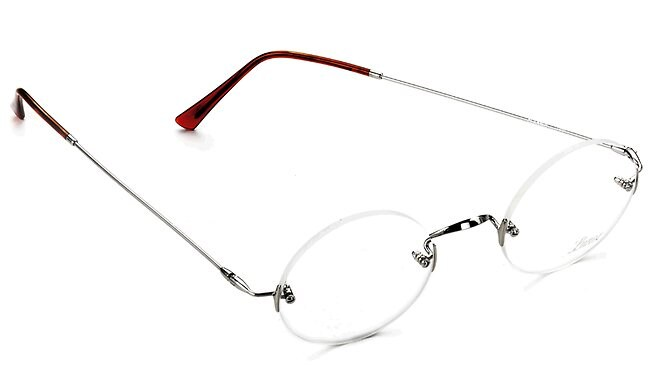 The German Lunor Classic Rund PP glasses, designed by Robert Marc. Picture: Courtesy of Robert Marc