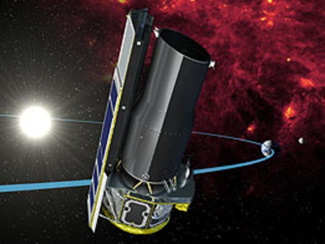 NASA's Spitzer space telescope.