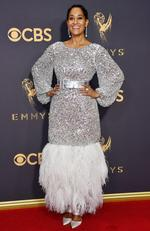 Tracee Ellis Ross attends the 69th Annual Primetime Emmy Awards at Microsoft Theater on September 17, 2017 in Los Angeles. Picture: Getty
