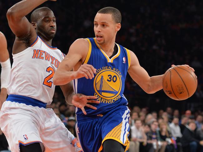 NBA MVP 2015: Steph Curry of Golden State Warriors wins award from James Harden, LeBron James ...