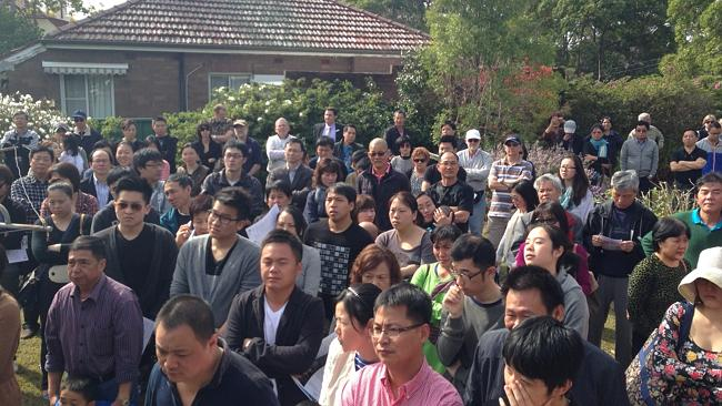 MORE than 250 people attended the auction of a home at Eastwood which sold for $1 million above its reserve.