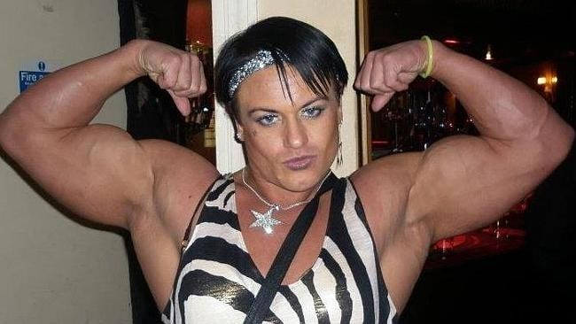 English bodybuilder Candice Armstrong. Picture: Twitter.com/JodieMarsh/