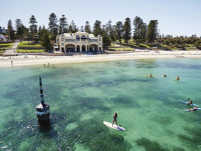 They're feeling the big squeeze in Perth too. Source: Tourism Western Australia