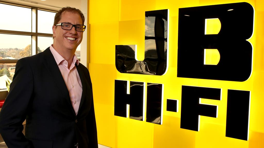 """""""We're happy to pay penalty rates"""": JB Hi-Fi chief executive Richard Murray. Picture: Stuart McEvoy"""