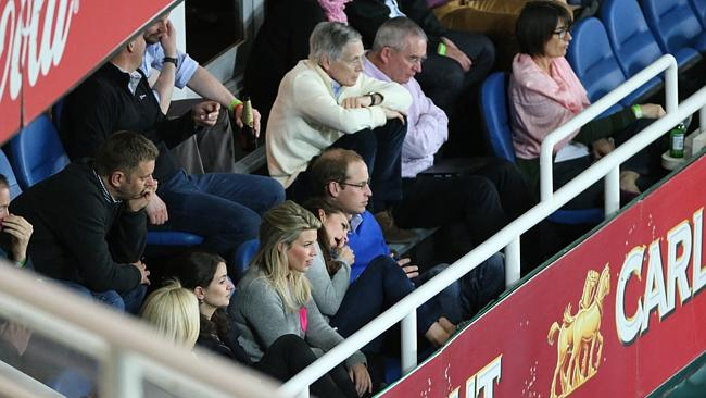 The Duchess looks worn out during the game. Picture: Attila Szilvasi.