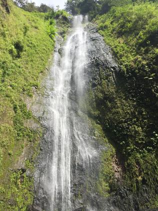 The incredible San Ramon waterfalls at Ometepe. Picture: Gary Burchett