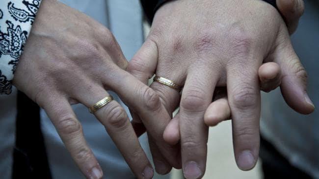 No religious group or racial minority is denied the right to marry. Picture: AFP photo/Martin Bernetti