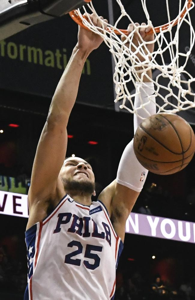 Ben Simmons sent an ominous warning to Miami ahead of game two.