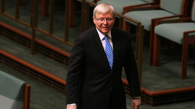 Rudd supporters petition to oust PM