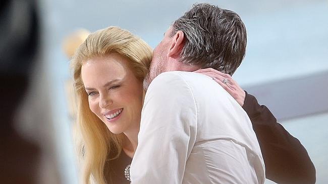 Controversial film ... Nicole Kidman and British actor Tim Roth promote Grace in Monaco in Cannes.