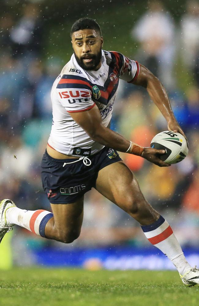 Michael Jennings scored the only try of the first half.