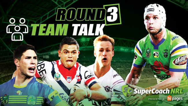 NRL teams round 3, 2018, live, team lists, stats, talk