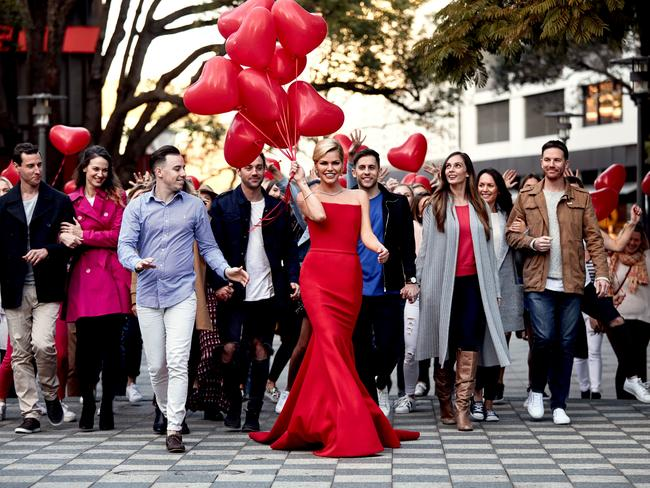 Sophie Monk Shooting TVC For Bachelorette Picture Ten