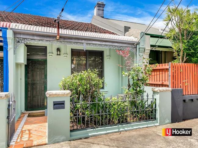 You could have purchased this two-bedroom terrace in Sydney's cheapest suburb within 10km, Tempe, which recently sold for $1.1 million. Picture: LJ Hooker Marrickville/Dulwich Hill