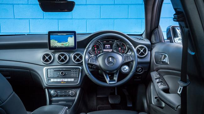 GLA: Full suite of safety tech including nine airbags