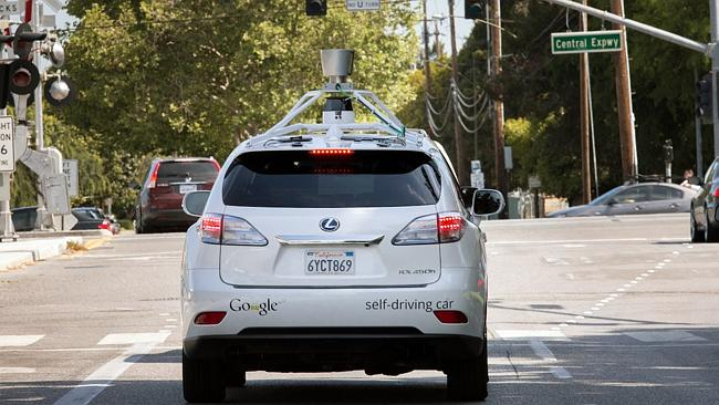 Streets ahead... A self-driving car is just one of the futuristic projects that Google is working on as part of the company's X Lab.