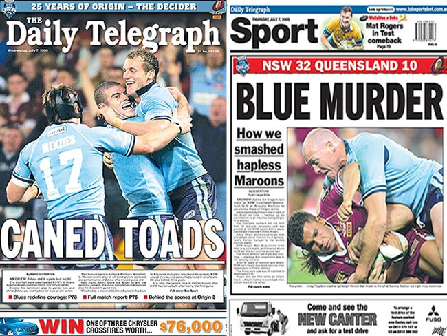 The Daily Telegraph rejoices.