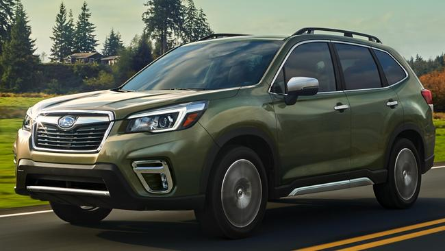 The Forester will be the first mainstream car maker to have the technology. Picture: Supplied.