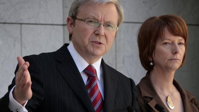Rudd's memoir speaks of Gillard and Latham