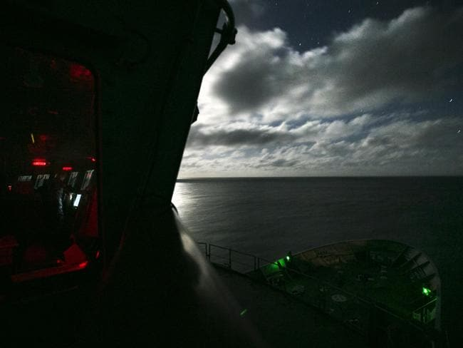The search for MH370 has covered massive amounts of ocean.