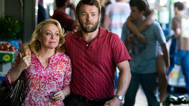 Career development ... Jacki Weaver and Edgerton in Animal Kingdom. Picture: Supplied.