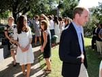 The Duke and Duchess of Cambridge, Prince William and Duchess Kate during their visit to Bear Cottage, Manly