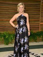 Comedian Amy Poehler attends the 2014 Vanity Fair Oscar Party. Picture: Getty