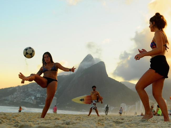 Ladies in Brazil are more carefree than ever.