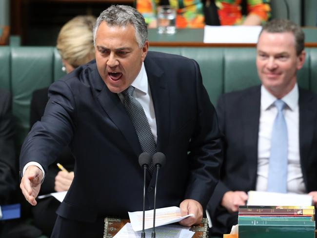 Do poor people make the team? Pictured, Treasurer Joe Hockey in Canberra.