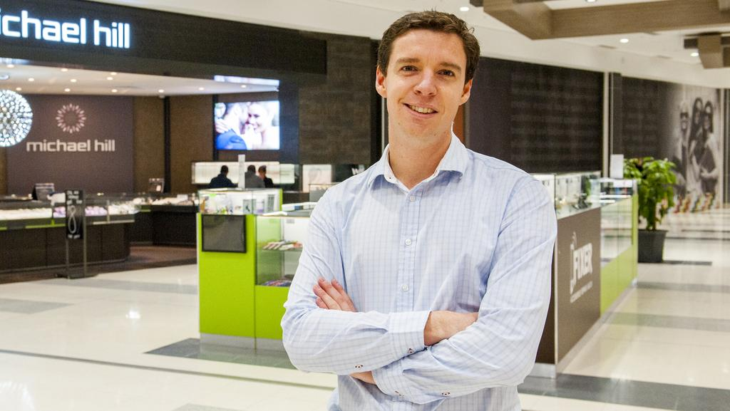 Michael Prosser, who studied a Master of Property degree in Melbourne. He is among a growing number of students with undergraduate and postgraduate degrees in real estate. Picture: Jeff Henderson.