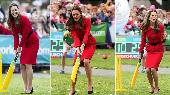We have cricket in Melbourne too, Kate. Please love us. Picture: Supplied