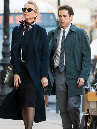 Hill was pictured in a scene with Trudie Styler. Picture: Splash News Australia